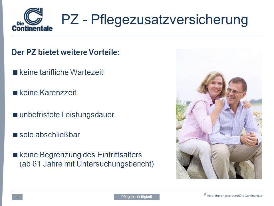 PZ - Pflegezusatzversicherung