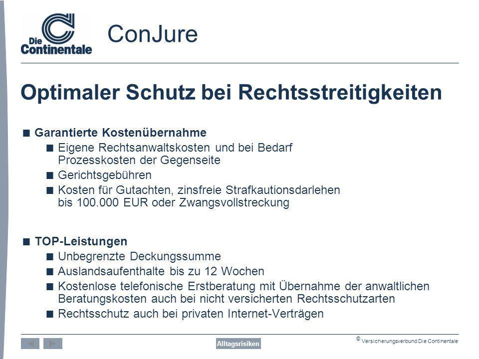 ConJure Optimaler Schutz bei Rechtsstreitigkeiten