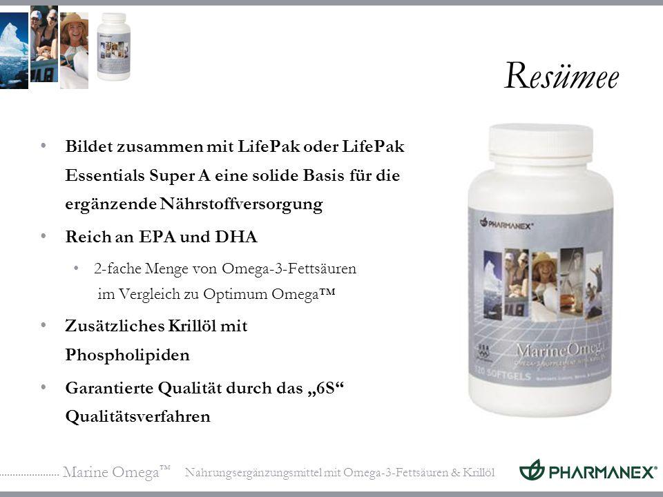 Resümee Bildet zusammen mit LifePak oder LifePak Essentials Super A eine solide Basis für die ergänzende Nährstoffversorgung.