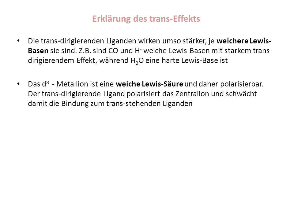 Erklärung des trans-Effekts