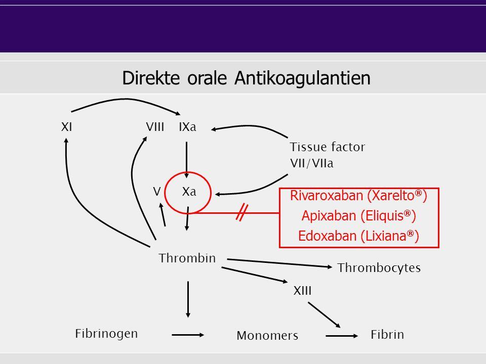 Direkte orale Antikoagulantien