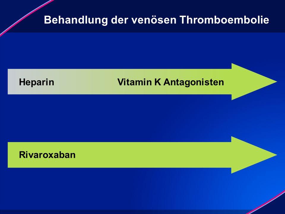 Behandlung der venösen Thromboembolie