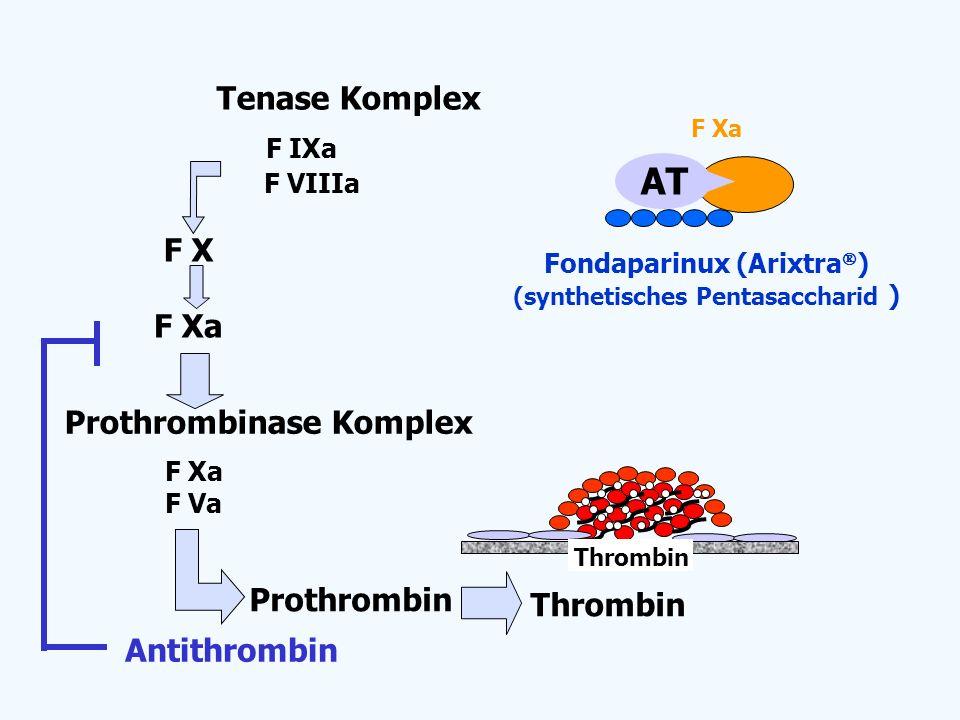 Fondaparinux (Arixtra) (synthetisches Pentasaccharid )