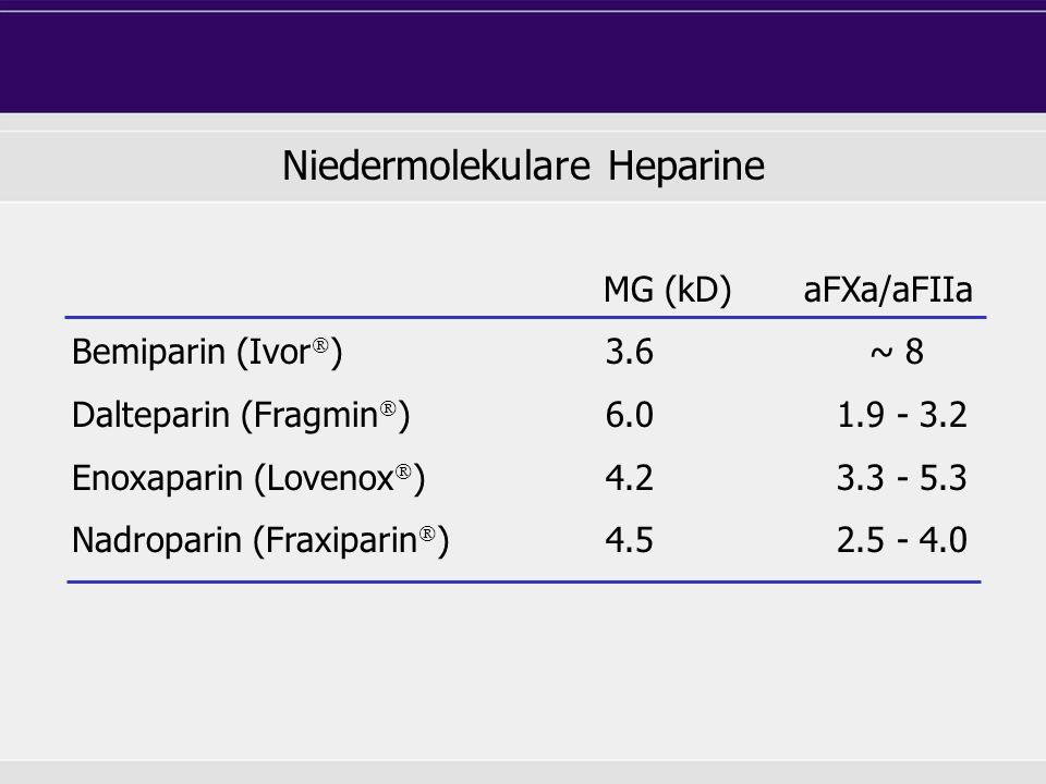 Niedermolekulare Heparine
