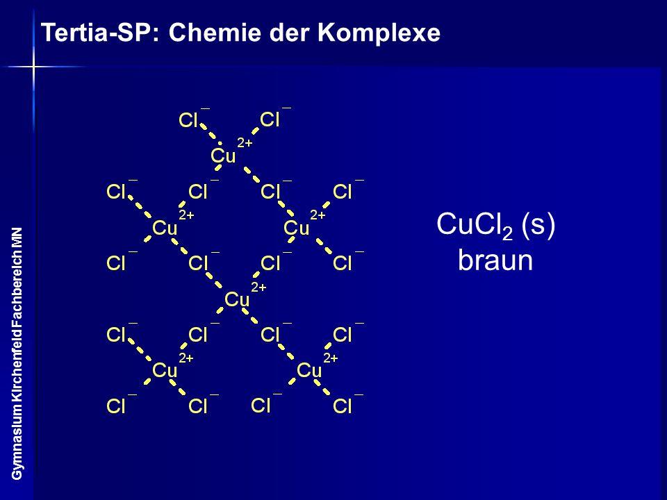 CuCl2 (s) braun