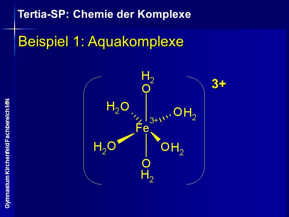 Beispiel 1: Aquakomplexe