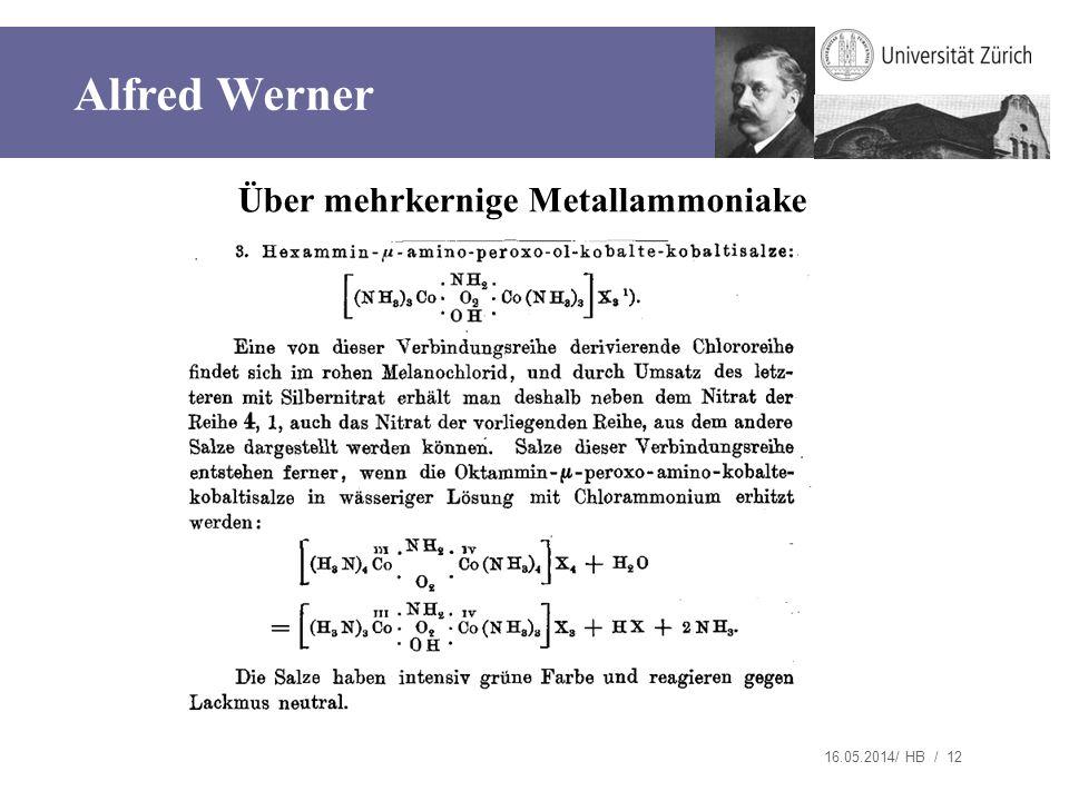 Über mehrkernige Metallammoniake