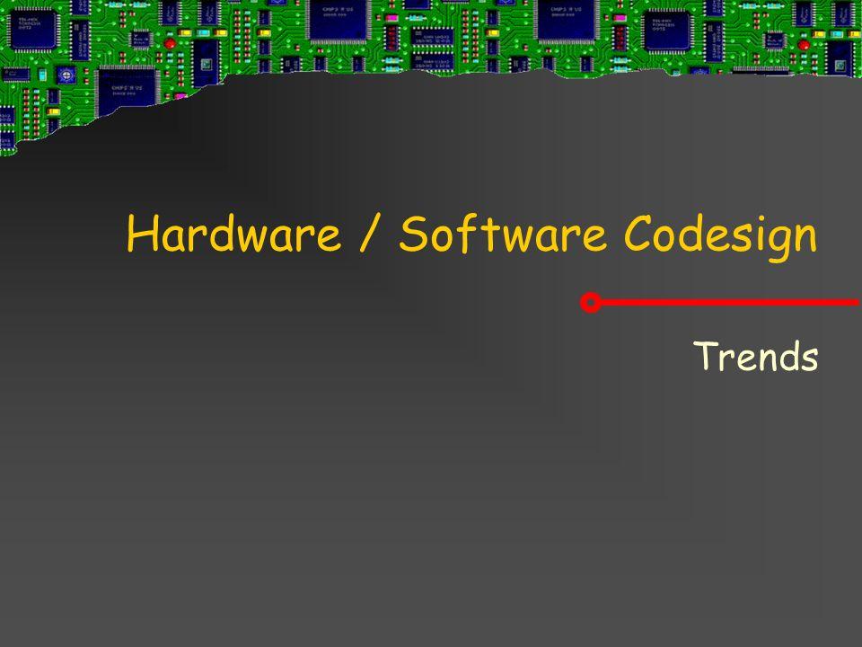 Hardware / Software Codesign