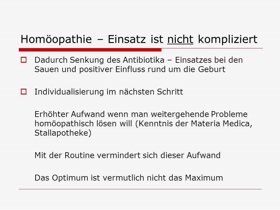 Homöopathie – Einsatz ist nicht kompliziert