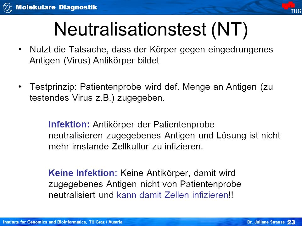 Neutralisationstest (NT)