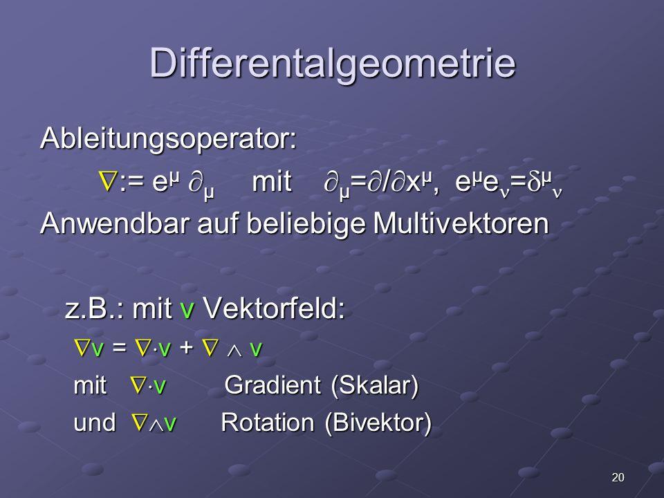 Differentalgeometrie