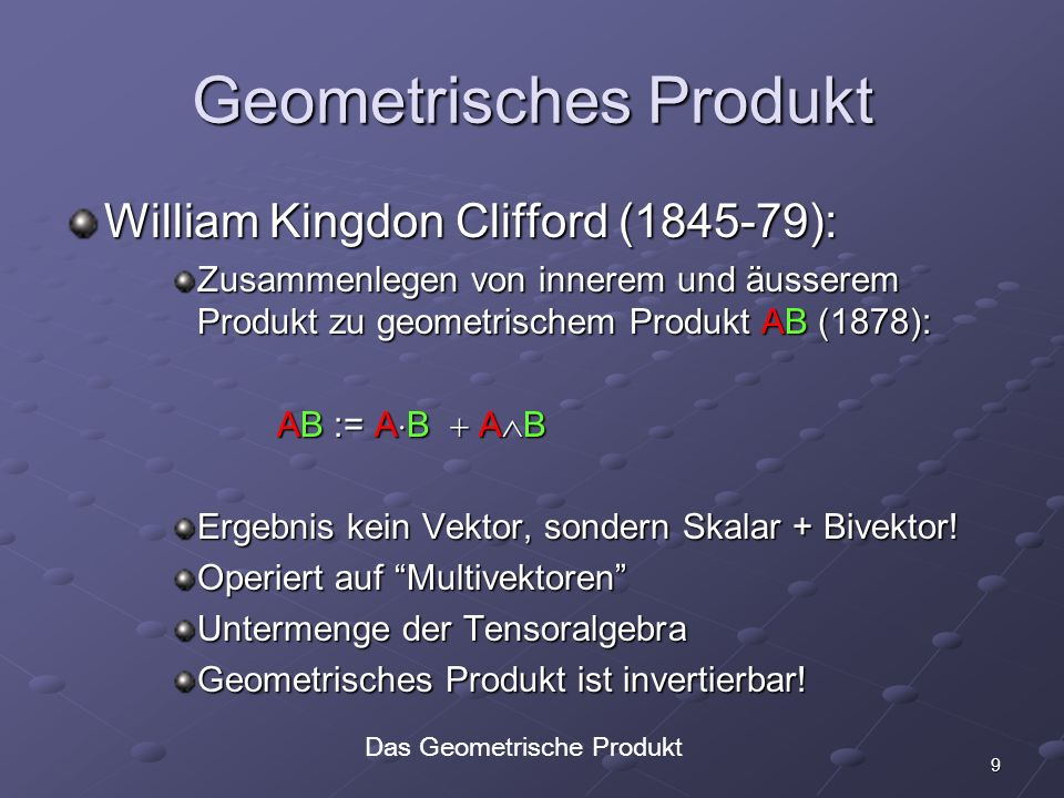 Geometrisches Produkt