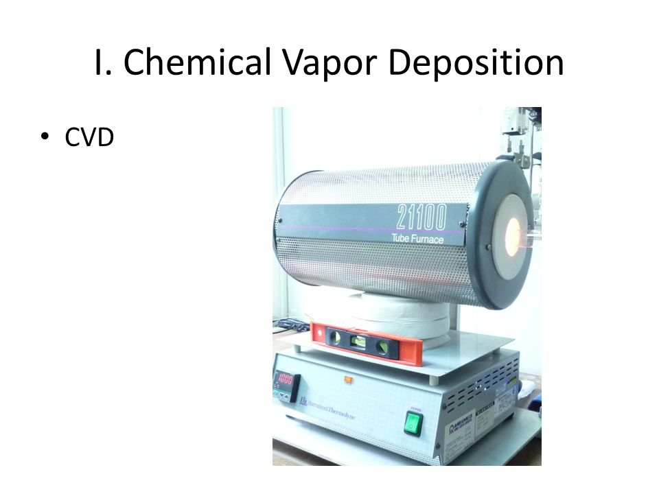 I. Chemical Vapor Deposition