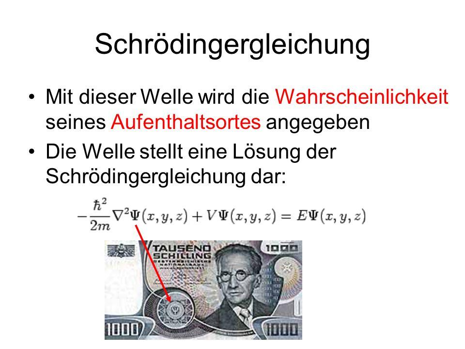 Schrödingergleichung