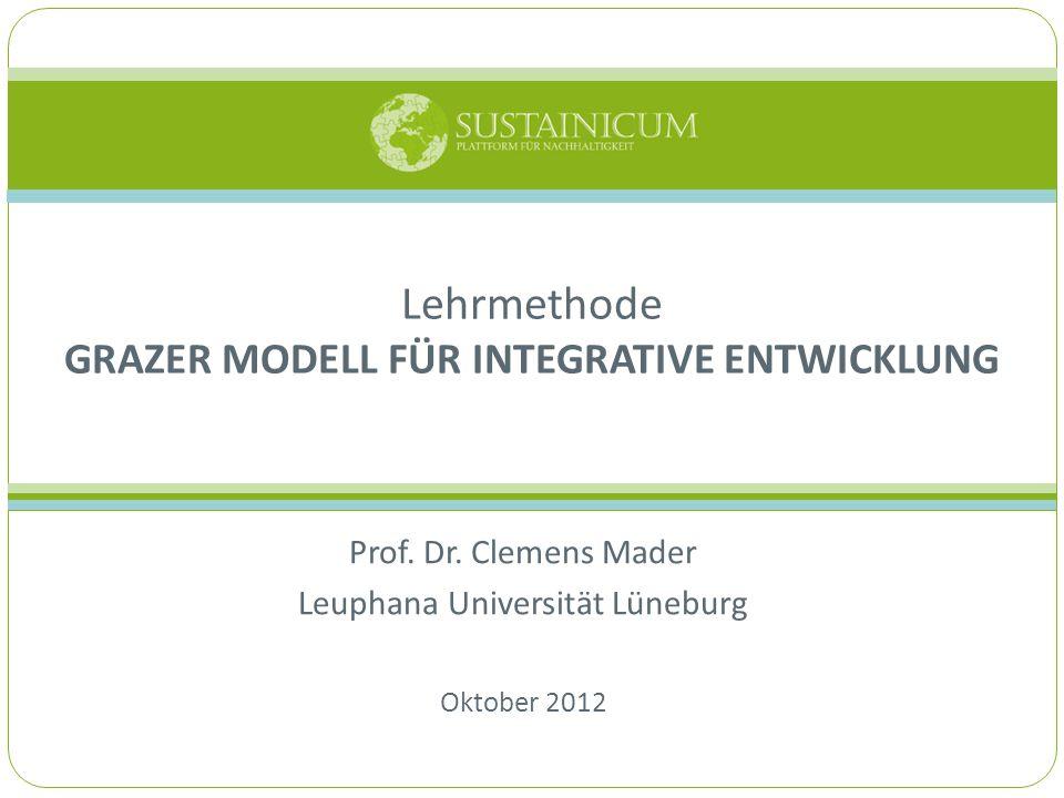 Lehrmethode Grazer Modell für Integrative Entwicklung