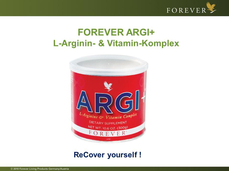 L-Arginin- & Vitamin-Komplex
