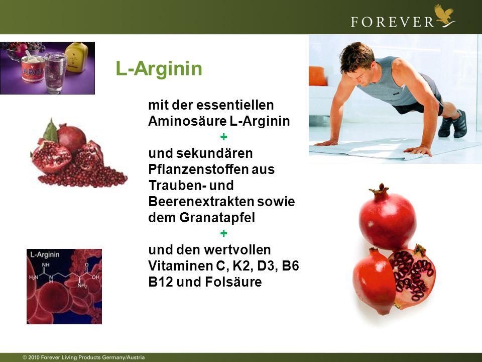 L-Arginin mit der essentiellen Aminosäure L-Arginin +