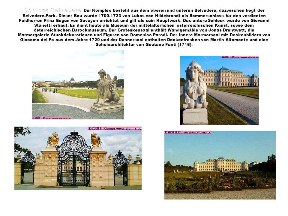 Schloss Belvedere.