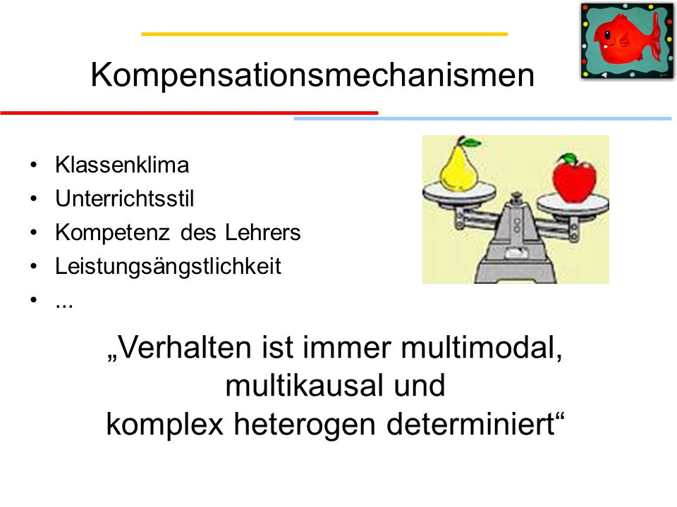 Kompensationsmechanismen