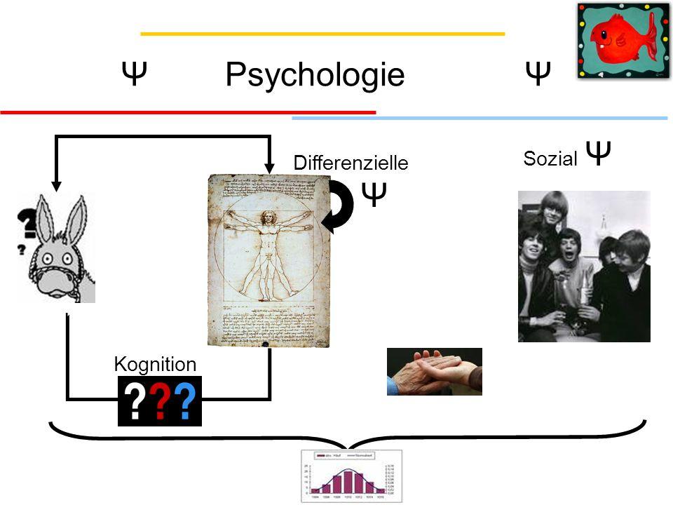 Ψ Psychologie Ψ Sozial Ψ Differenzielle Ψ Kognition