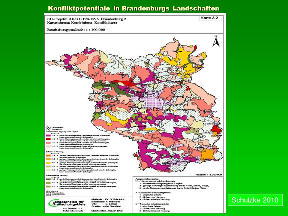 Konfliktpotentiale in Brandenburgs Landschaften