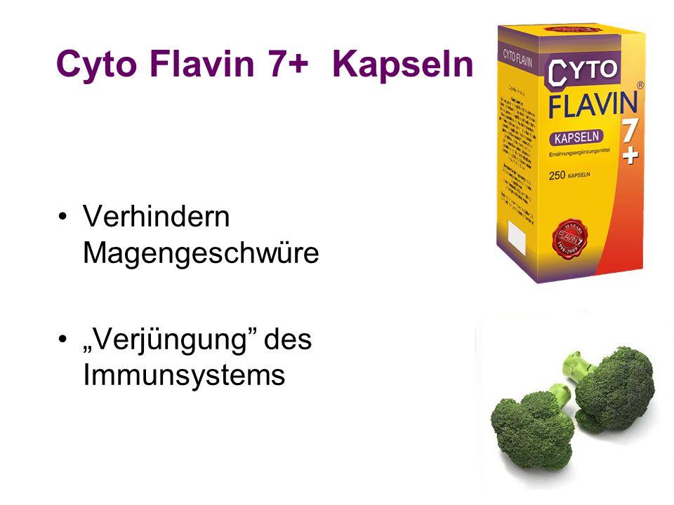 Cyto Flavin 7+ Kapseln Verhindern Magengeschwüre