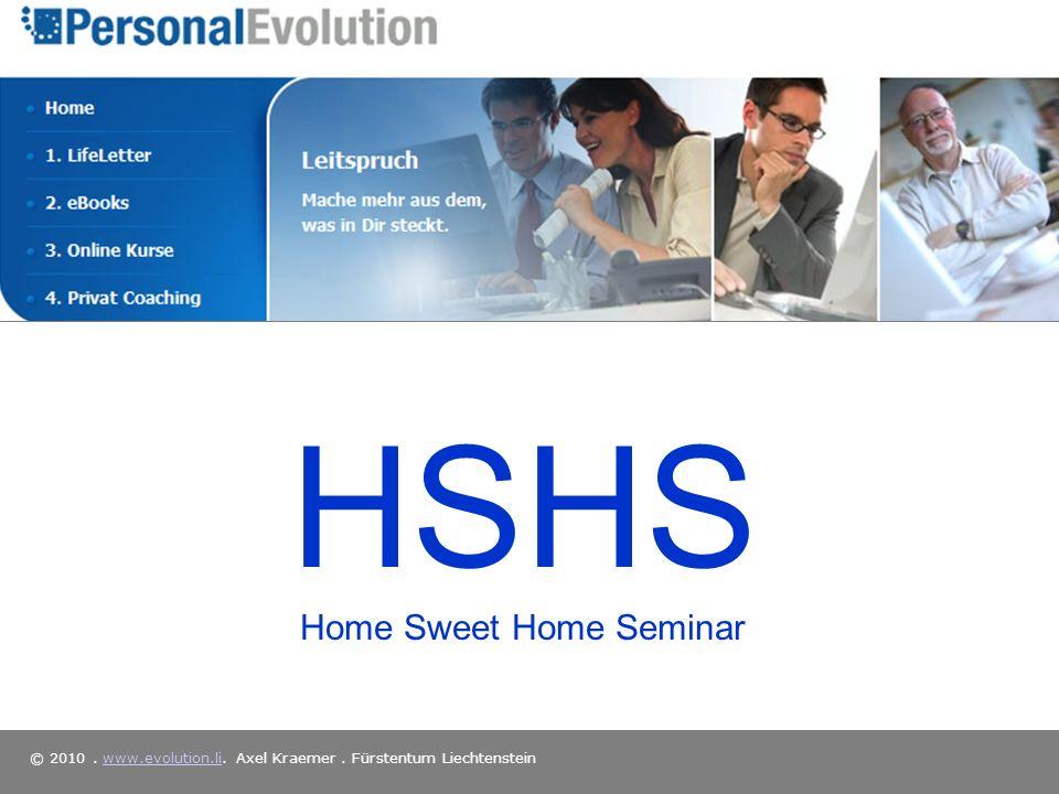 HSHS Home Sweet Home Seminar