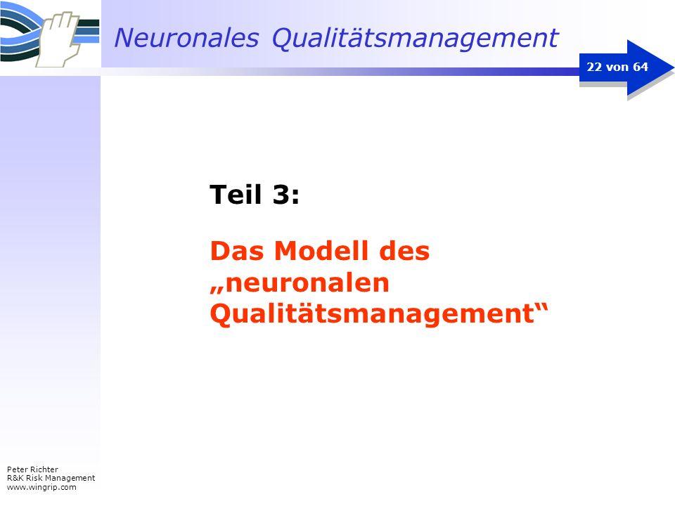 """Das Modell des """"neuronalen Qualitätsmanagement"""