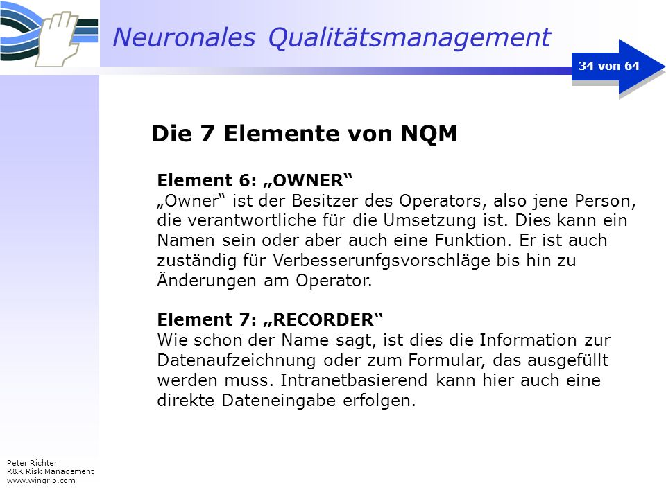 "Die 7 Elemente von NQM Element 6: ""OWNER"