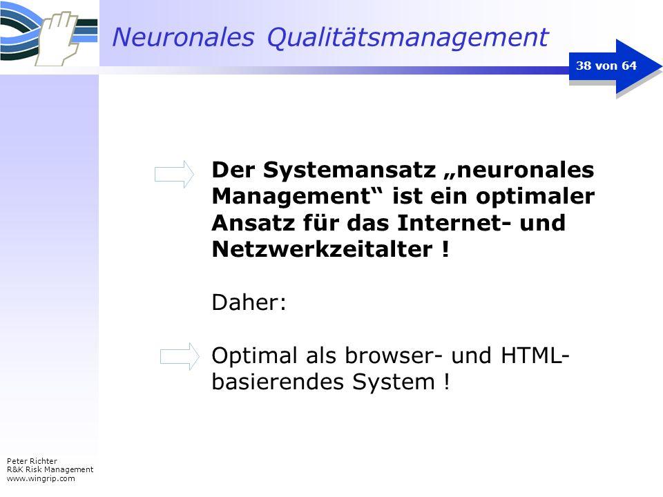"""Der Systemansatz """"neuronales Management ist ein optimaler Ansatz für das Internet- und Netzwerkzeitalter !"""