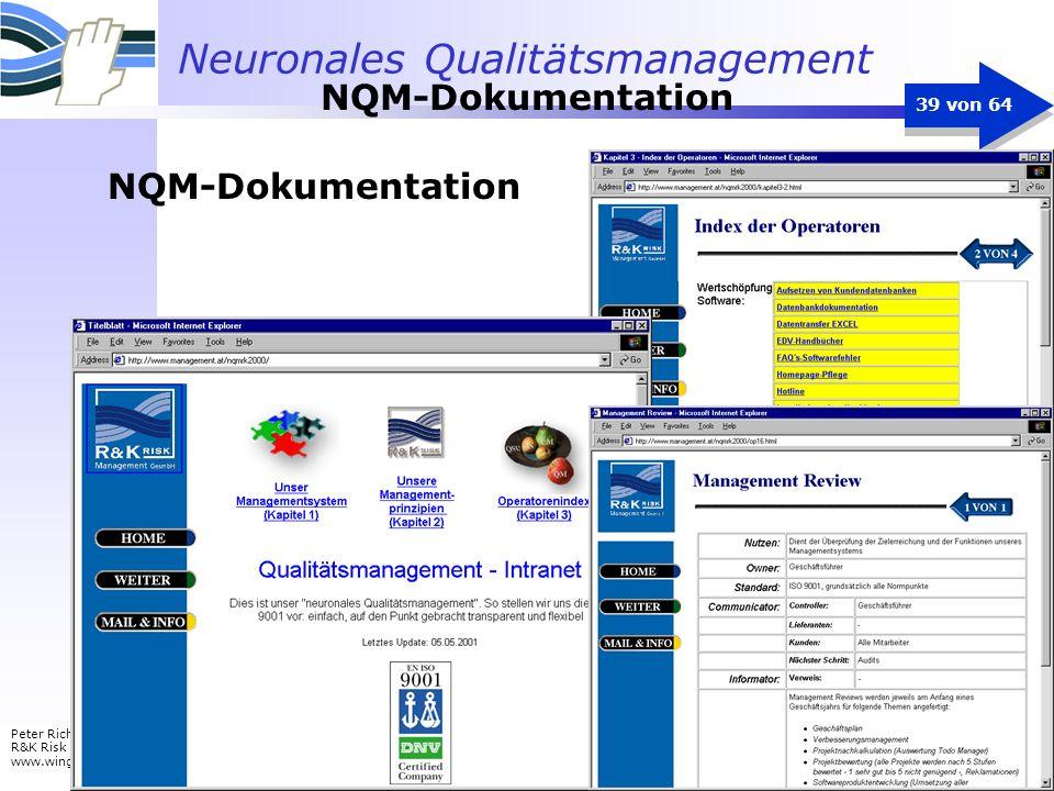 NQM-Dokumentation NQM-Dokumentation