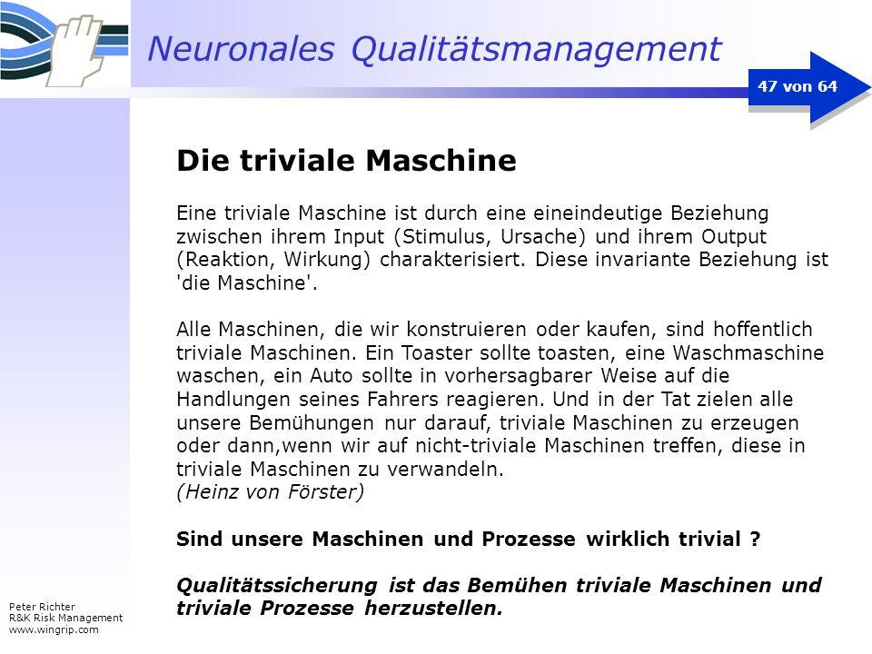 Die triviale Maschine