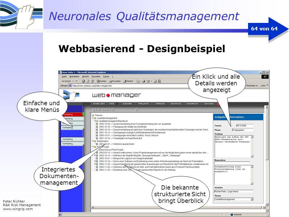 Webbasierend - Designbeispiel