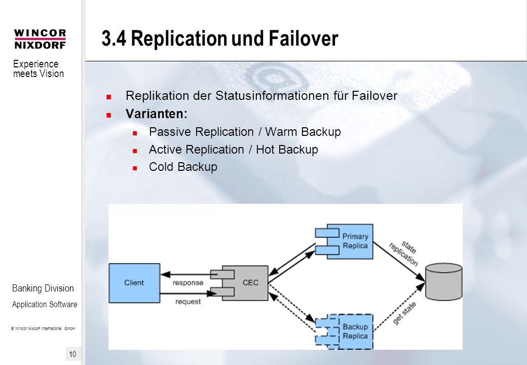 3.4 Replication und Failover