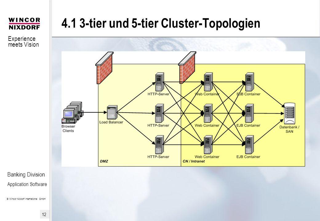 4.1 3-tier und 5-tier Cluster-Topologien