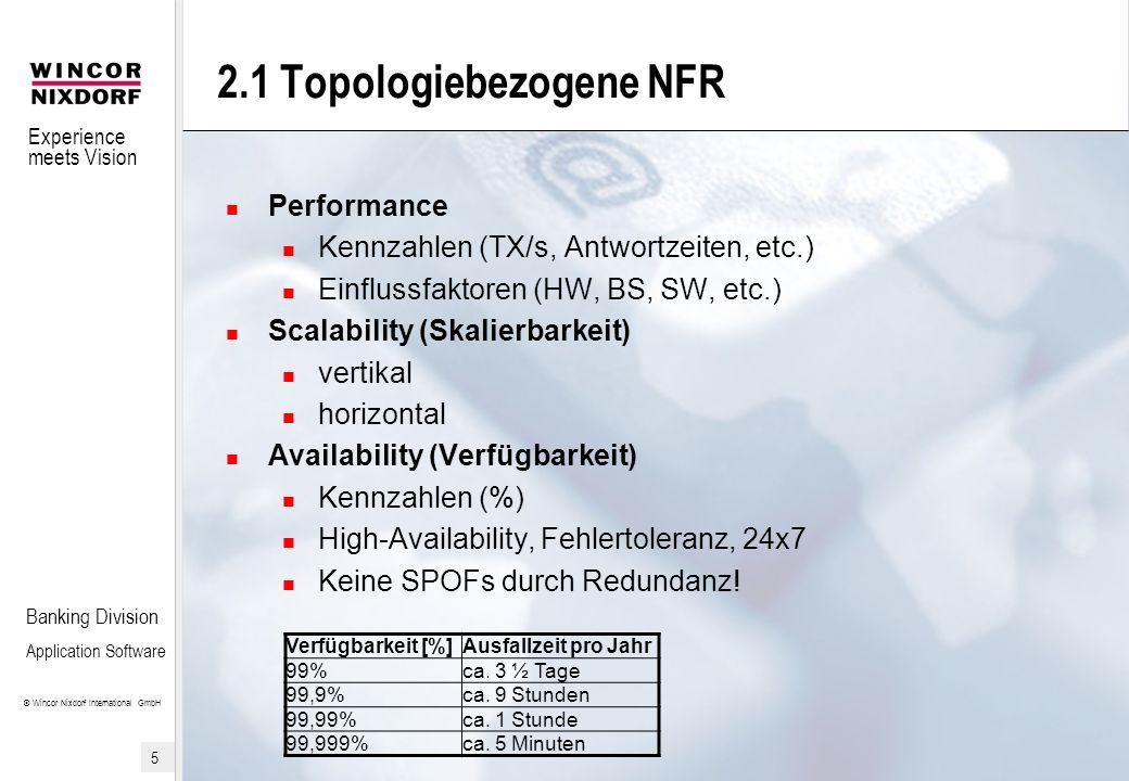 2.1 Topologiebezogene NFR