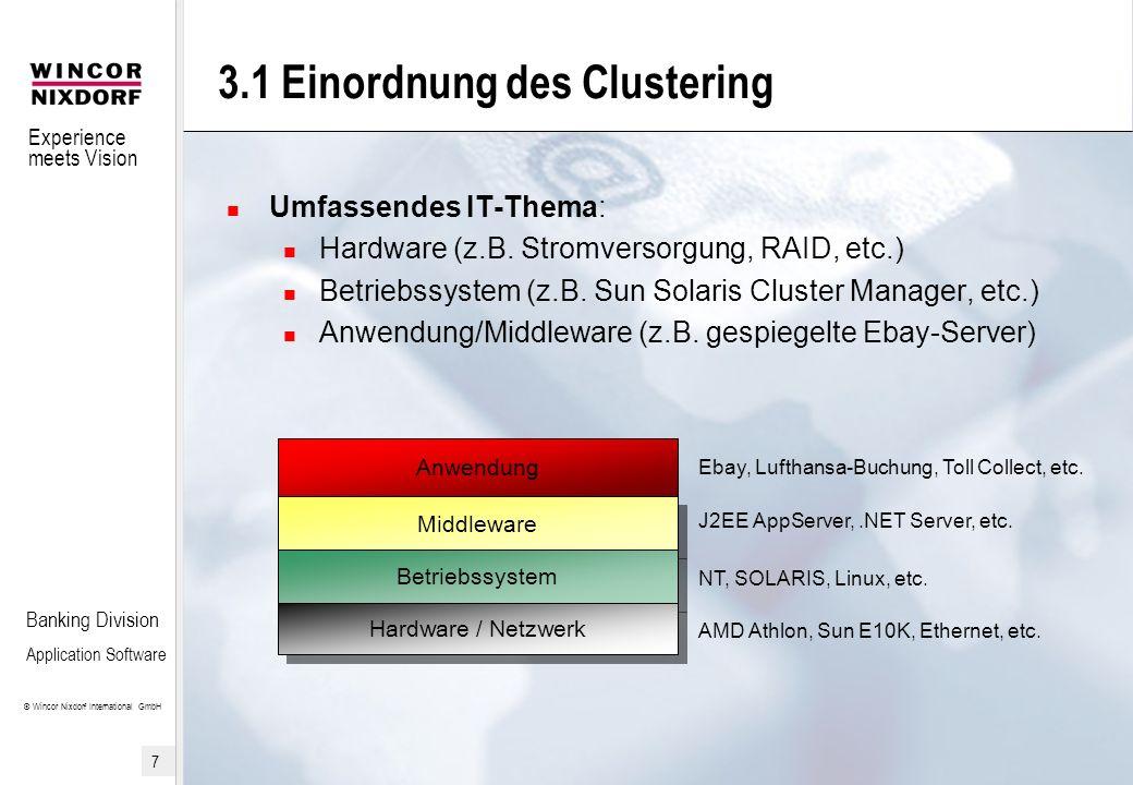 3.1 Einordnung des Clustering