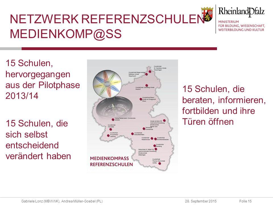 Netzwerk Referenzschulen MedienkomP@ss