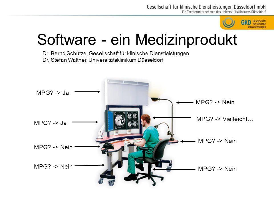 Software - ein Medizinprodukt