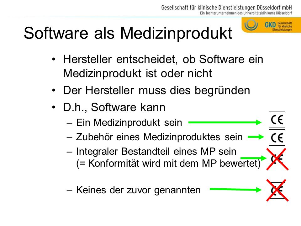 Software als Medizinprodukt