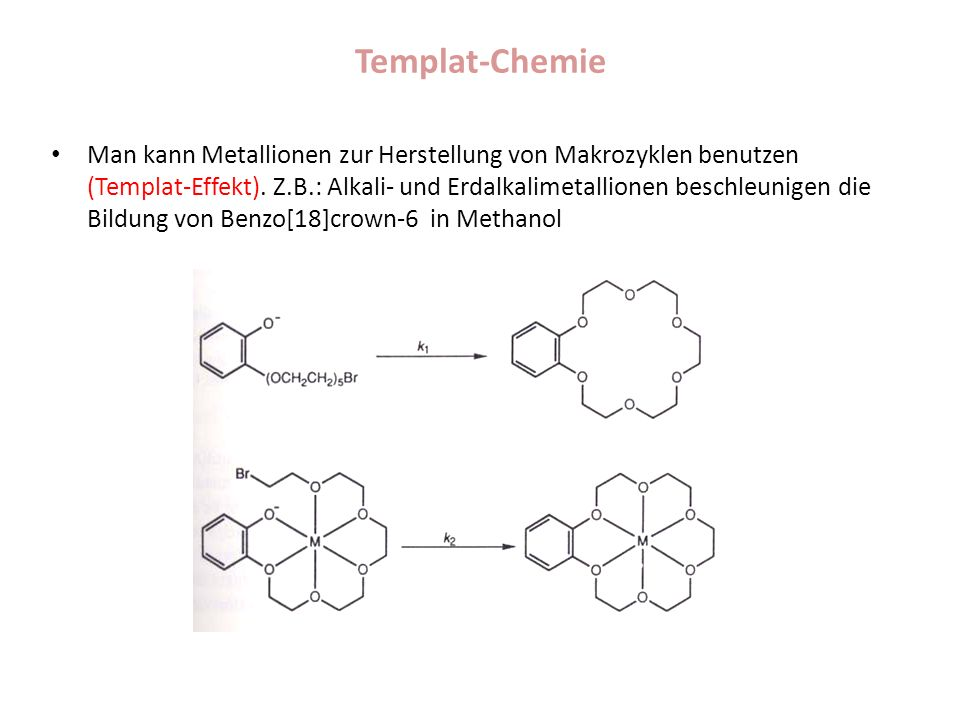 Templat-Chemie