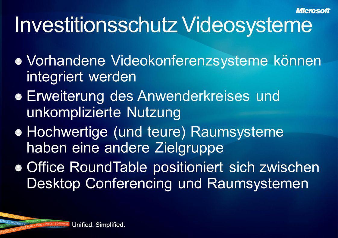 Investitionsschutz Videosysteme