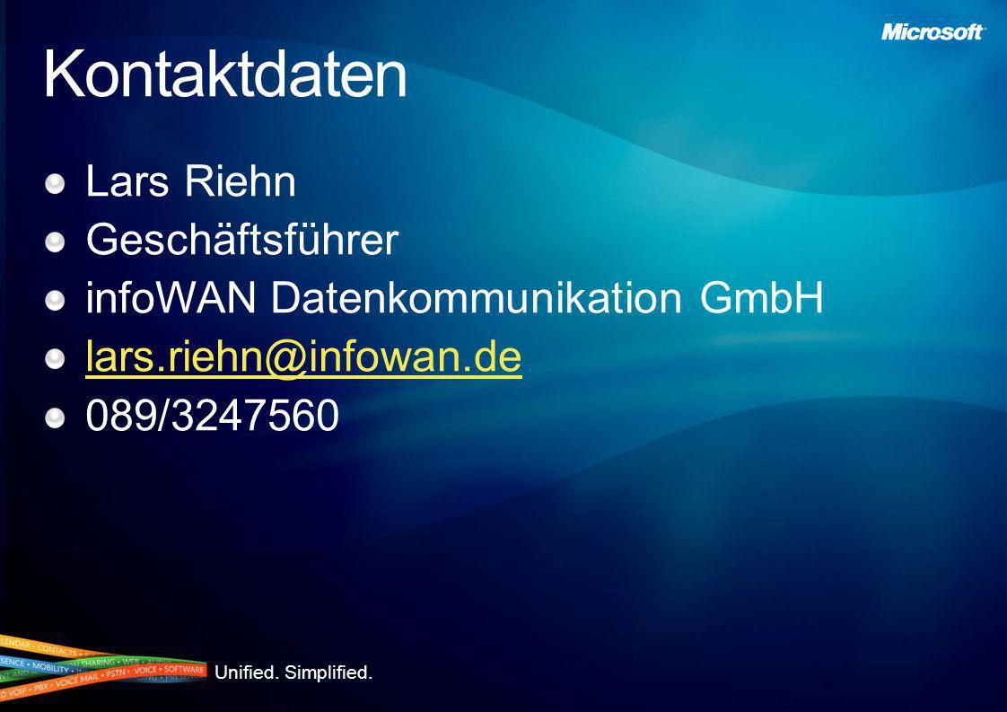 Kontaktdaten Lars Riehn Geschäftsführer