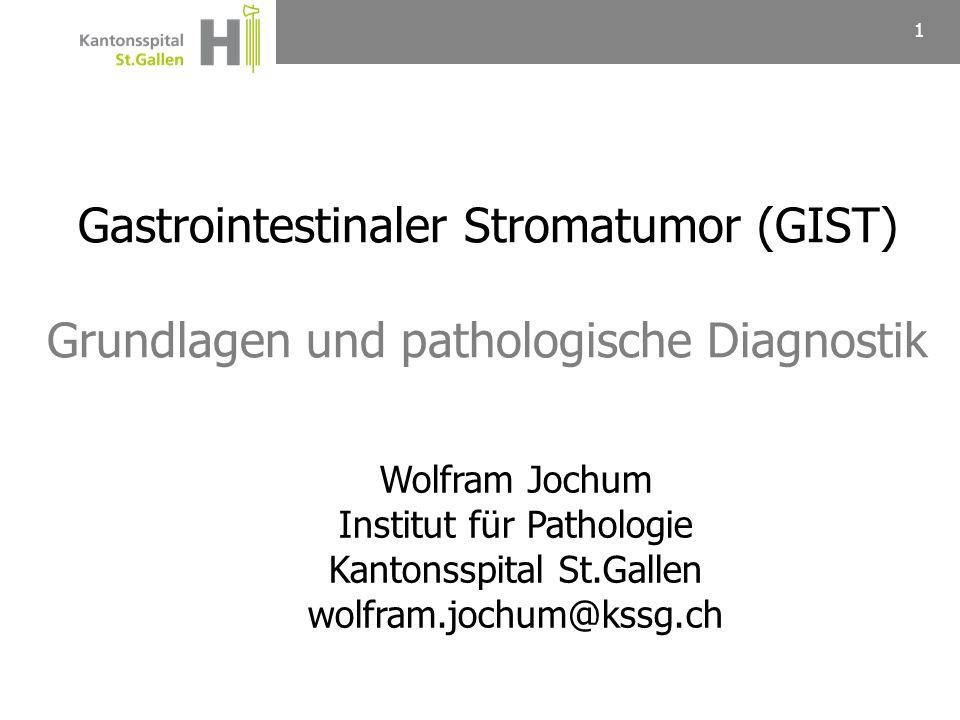 Gastrointestinaler Stromatumor (GIST)
