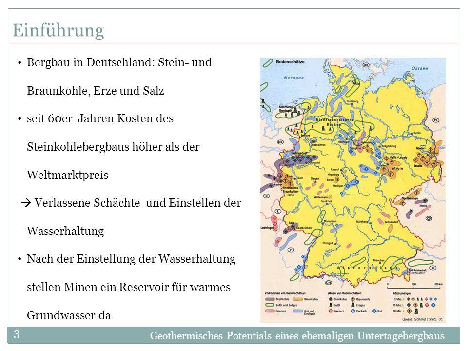 Einführung Bergbau in Deutschland: Stein- und Braunkohle, Erze und Salz.