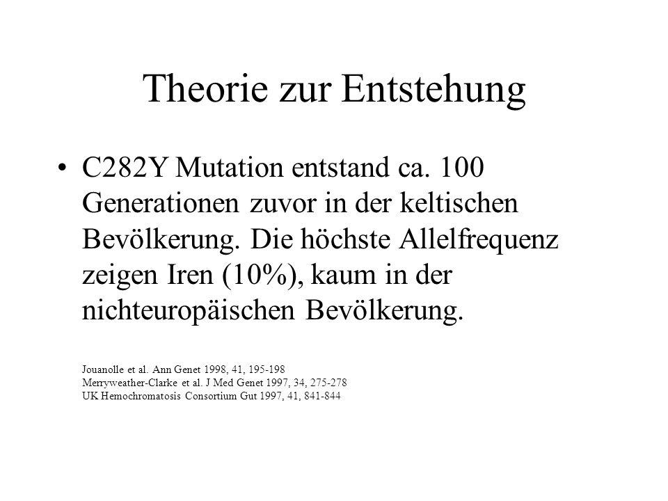 Theorie zur Entstehung
