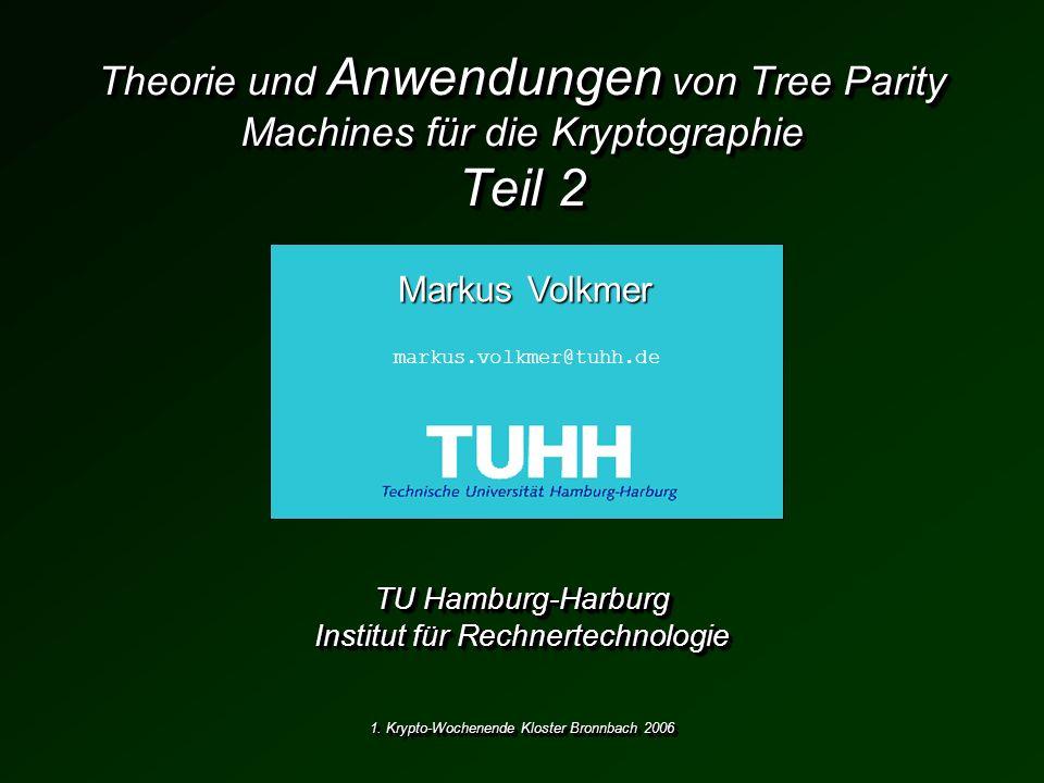 TU Hamburg-Harburg Institut für Rechnertechnologie
