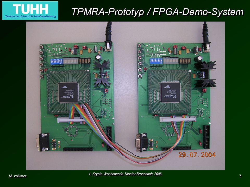 TPMRA-Prototyp / FPGA-Demo-System