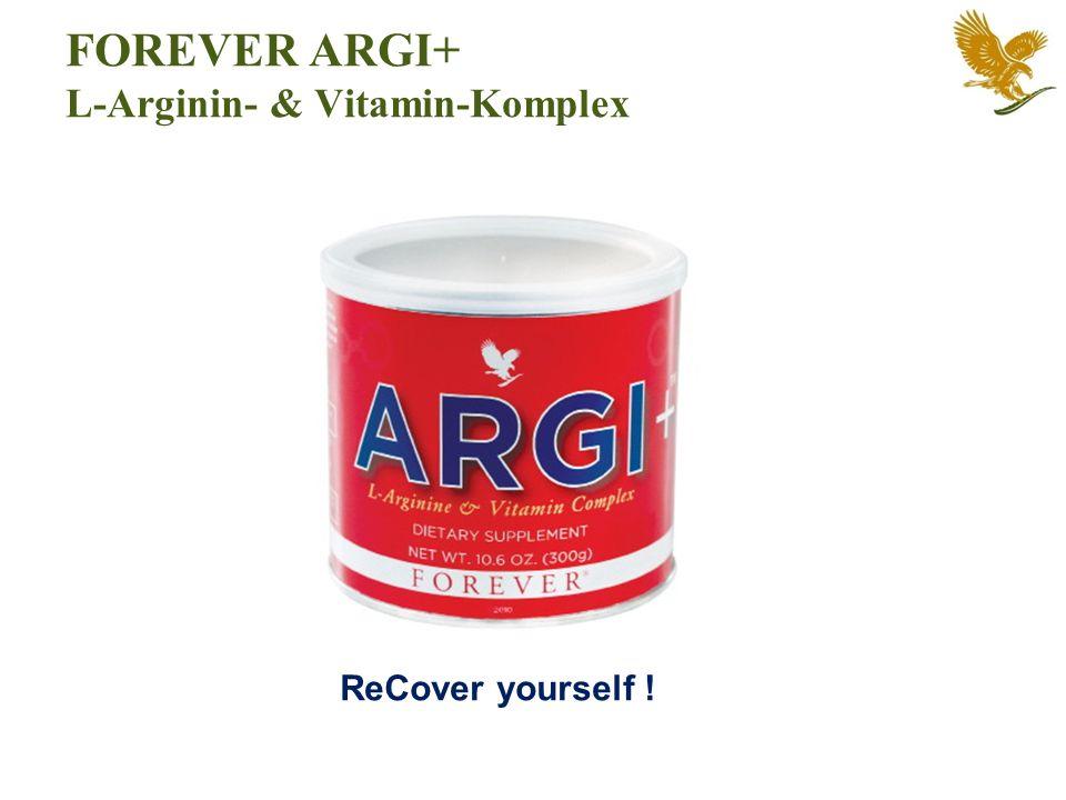 FOREVER ARGI+ L-Arginin- & Vitamin-Komplex