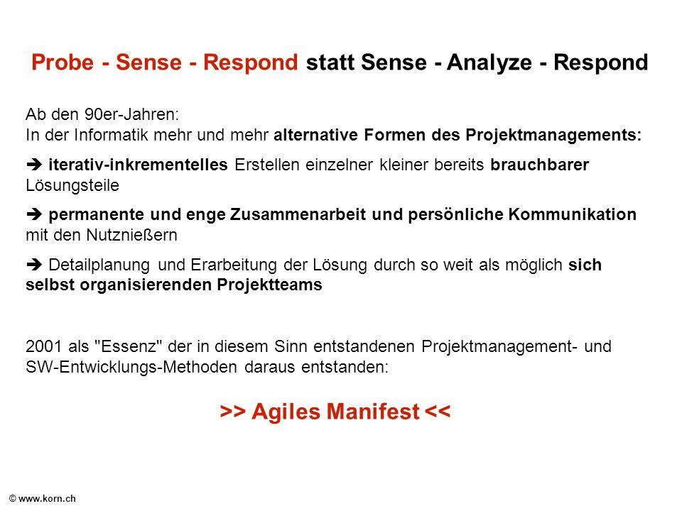 >> Agiles Manifest <<